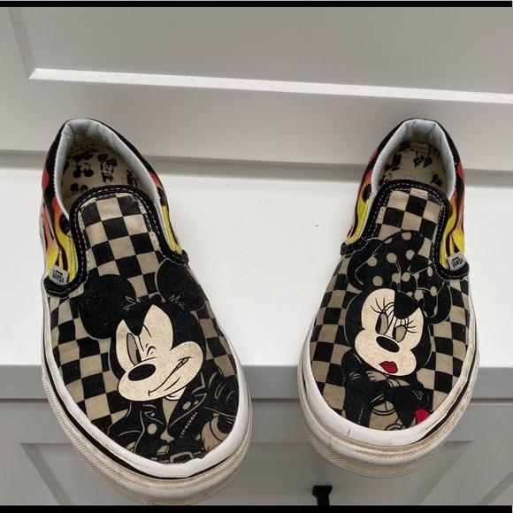 Vans Shoes   Disney Mickey Minnie Vans
